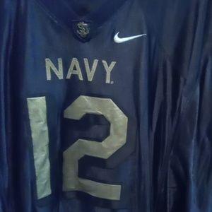 Naval Academy football jersey#12